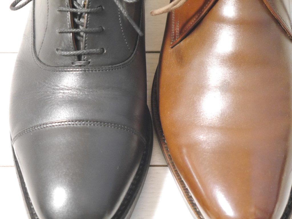 雨用の靴に向くのは?水滴比較試験2