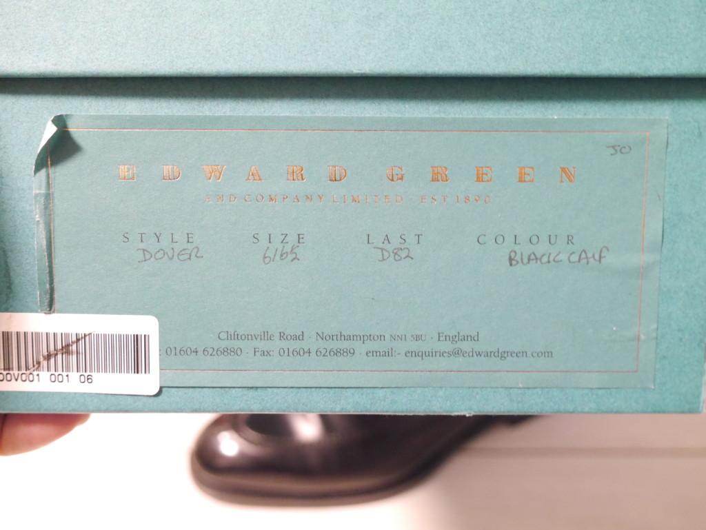 エドワードグリーンドーバー 靴磨き モデル名 D86