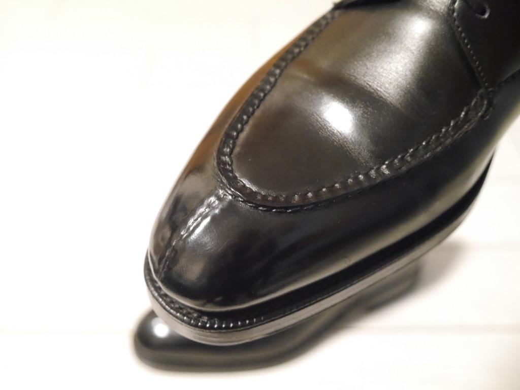 エドワードグリーンドーバー 靴磨き スキンステッチ