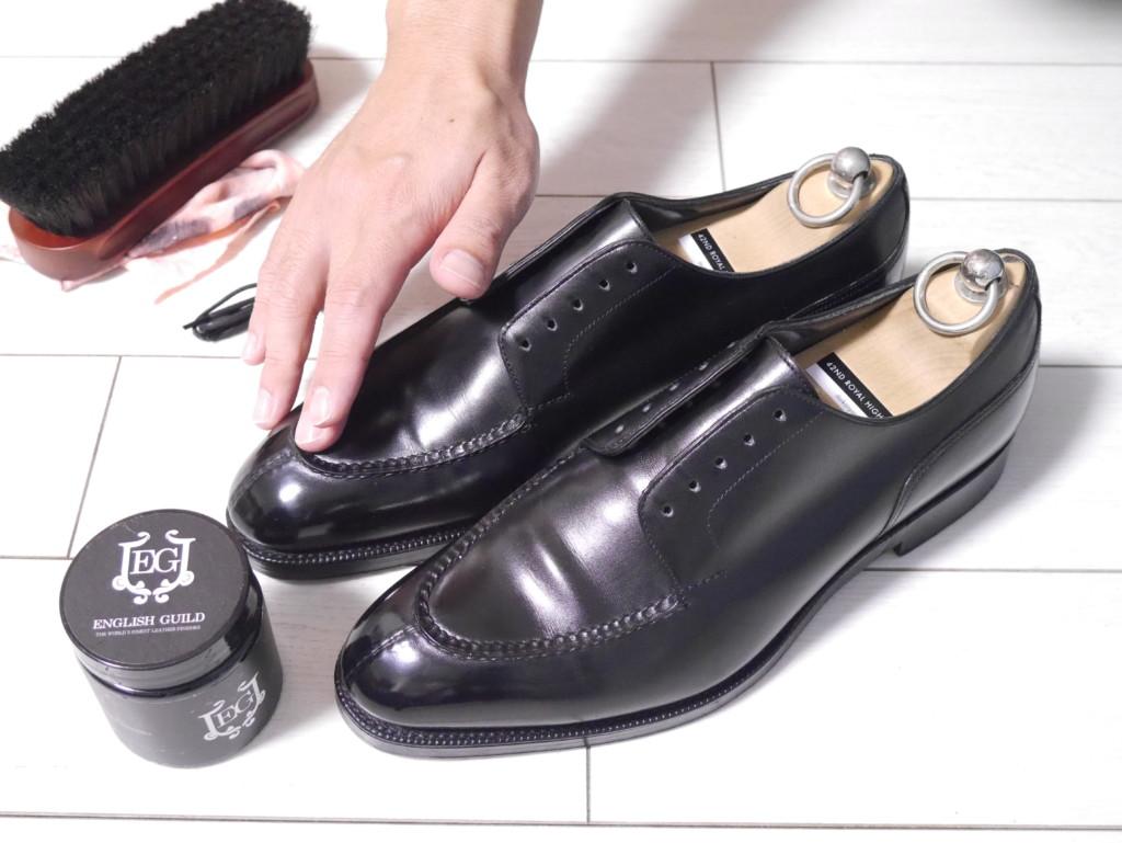 エドワードグリーンドーバー 靴磨き クリーム