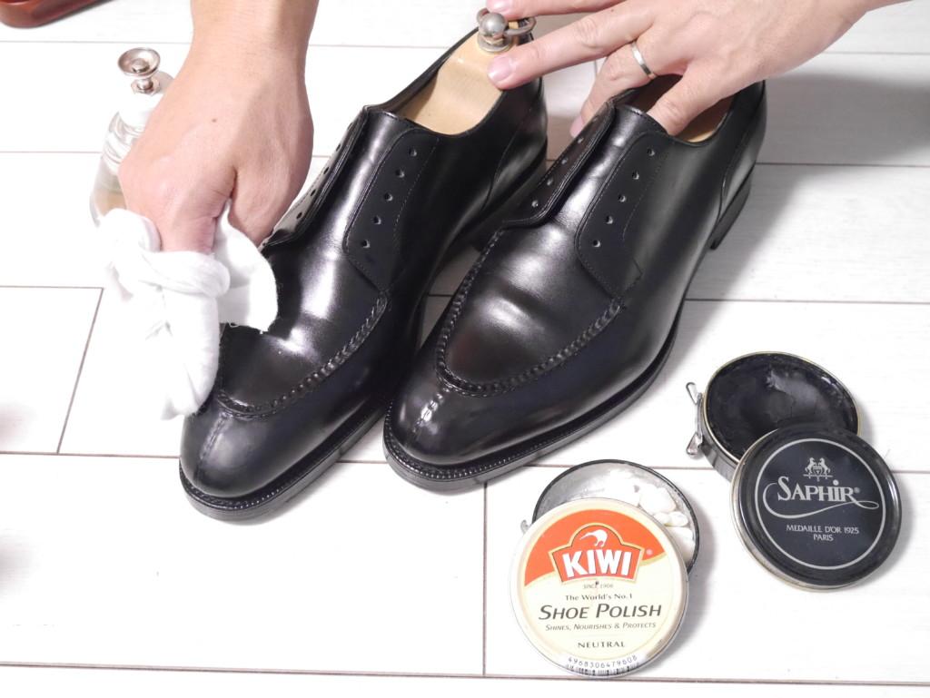 エドワードグリーンドーバー 靴磨き ワックス