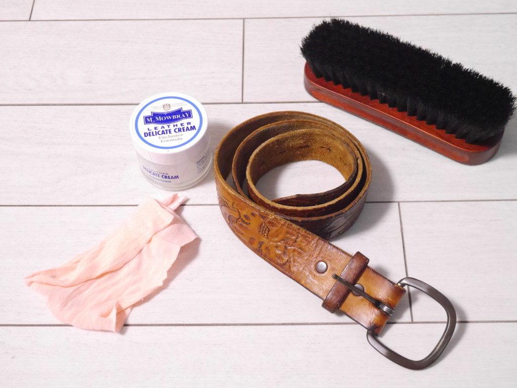 リーガルのパンプスの靴擦れを直す ベルトにも使える