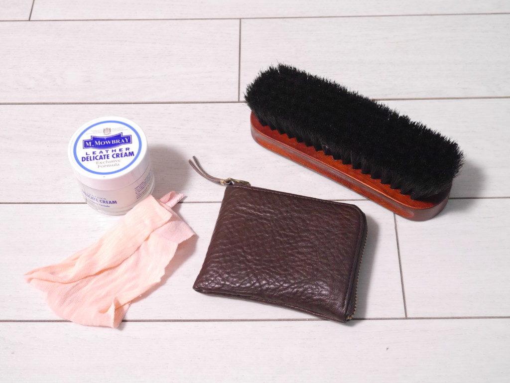 リーガルのパンプスの靴擦れを直す 革の財布にも使える