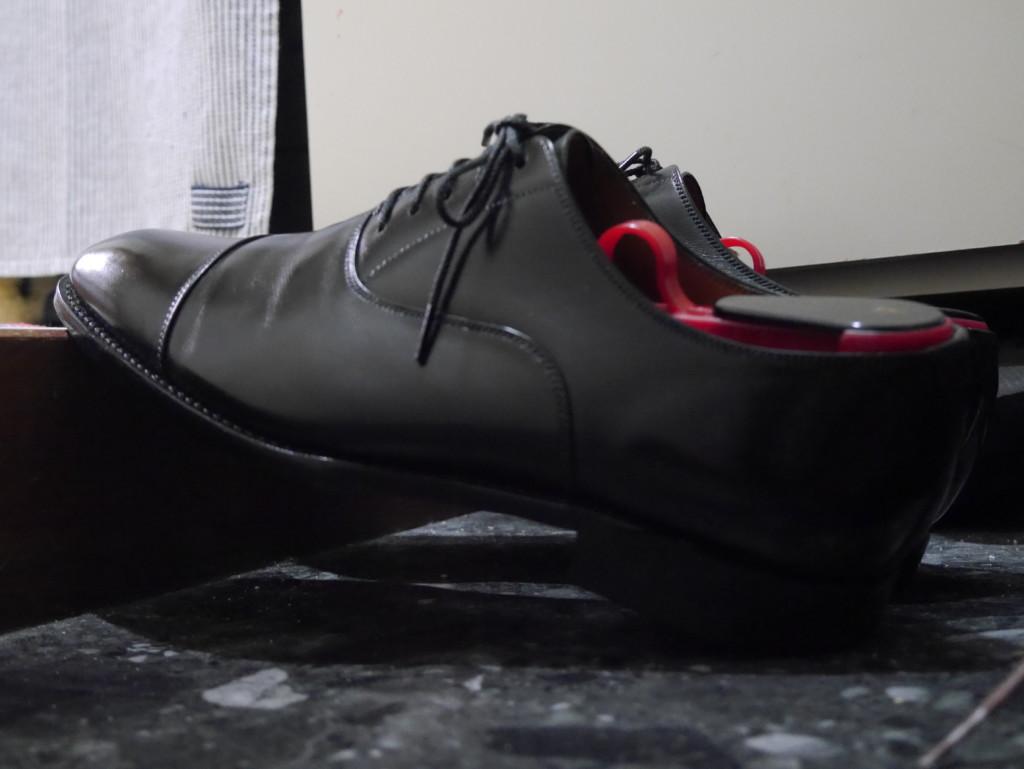 靴が塗れてしまった時の対処法 乾かし方