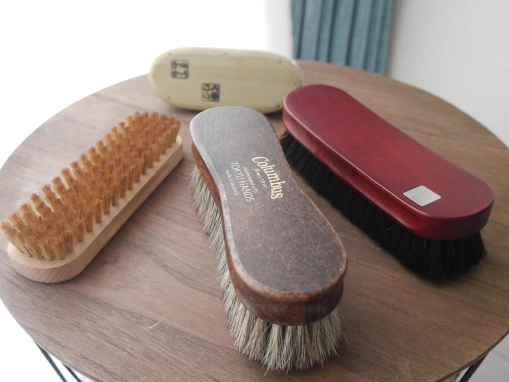 靴磨きブラシ 全種類