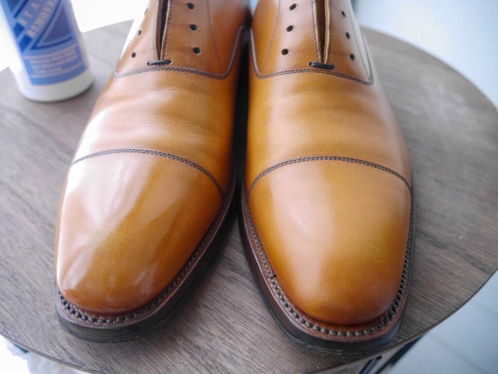 茶色の靴 リムーバー参考