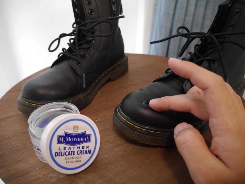 ドクターマーチンキッズ 靴擦れ対策