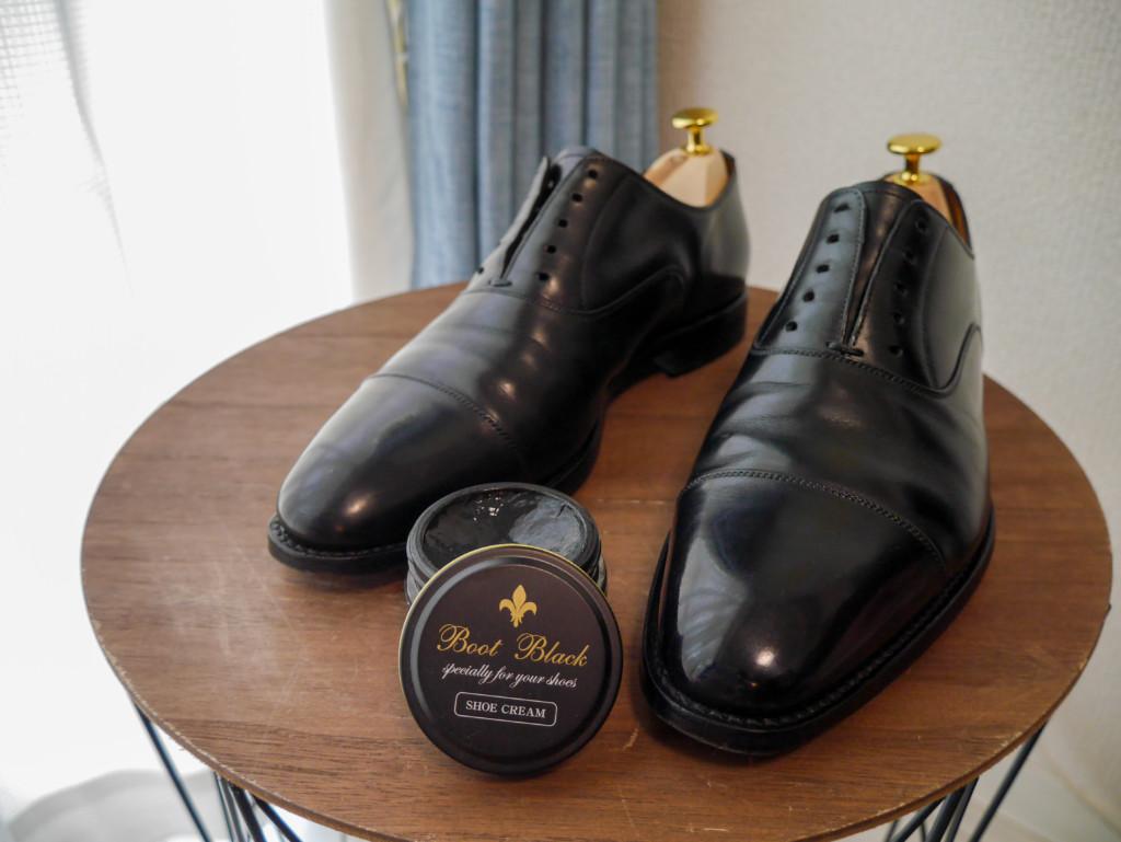 革靴の傷 乳化性クリーム