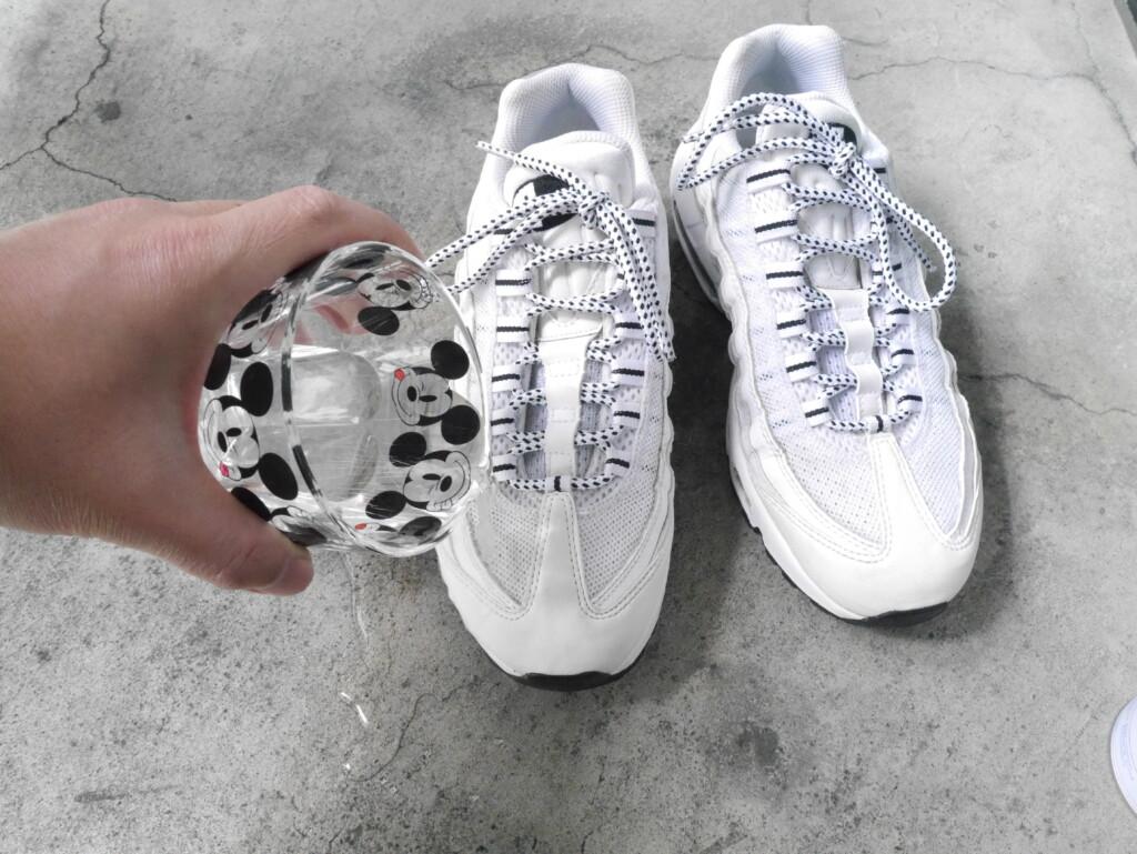 靴丸洗い 防水実験