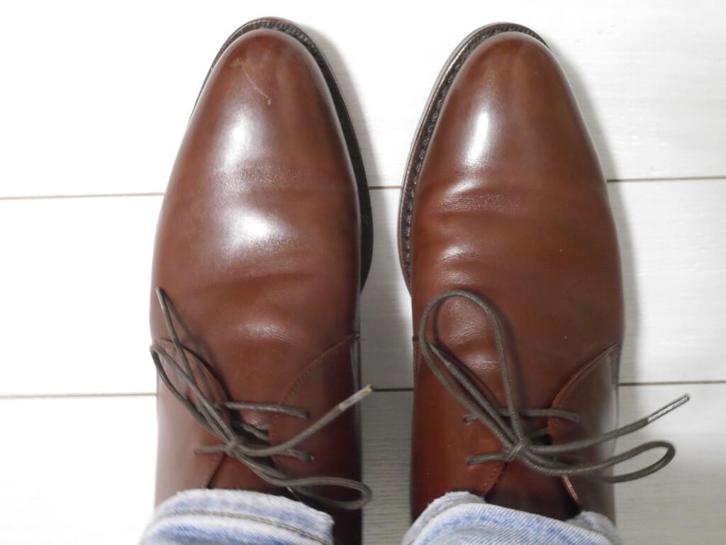 靴紐 純正