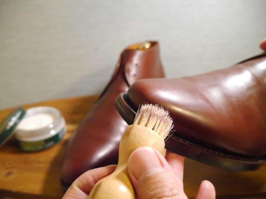 靴磨きおすすめクリーム ペネトレイトブラシ